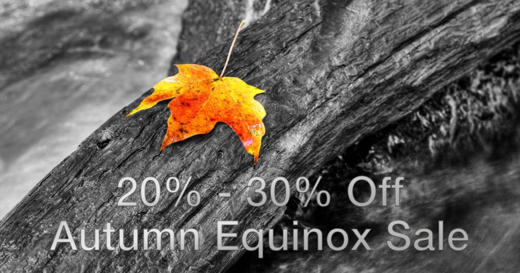 Autumn Equinox Sale